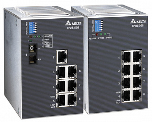 Коммутаторы Ethernet DVS-008